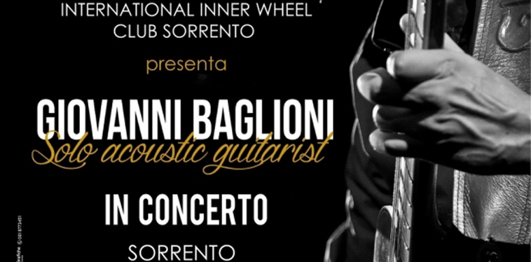 International Inner Wheel Sorrento presenta Giovanni Baglioni in concerto