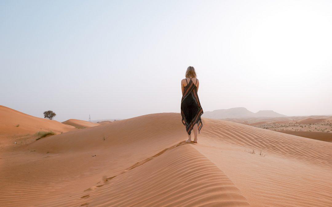 La domenica di Lady Gaia: Deserti